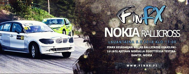 Fin Rx Rallicross osakilpailu Nokia 8.9.2018 Katso kisa Alfa TV:stä linkit ohessa.